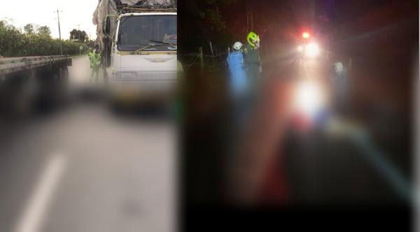Una motociclista fallecida vía Mosquera-Bogotá y Un ciclista fallecido vía Bogotá – La Vega