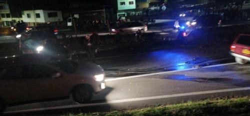 Quien falleció en el accidente de la vía Facatativá-Bogotá  habría sido el motociclista