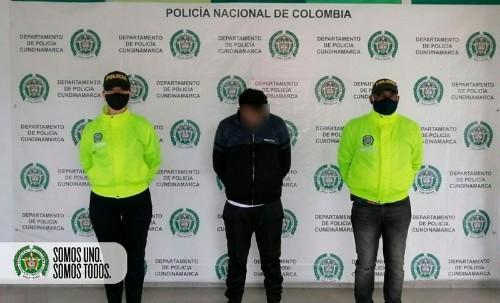 En Funza, Capturado presunto abusador sexual por orden judicial.