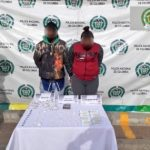 DOS CAPTURAS EN FLAGRANCIA MEDIANTE ALLANAMIENTO EN EL MUNICIPIO DE SOACHA