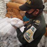 GOLPE AL CONTRABANDO EN LA CAPITAL DEL PAÍS POR PARTE DE LA POLICÍA FISCAL Y ADUANERA