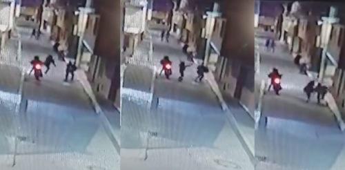 En video quedó registrado el frustrado intento de robo en Madrid Cundinamarca