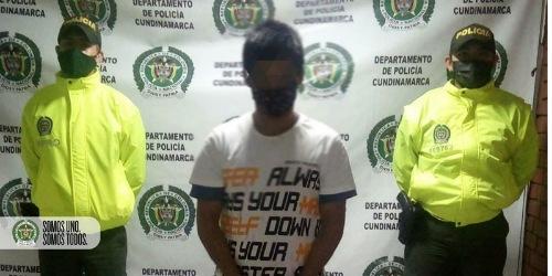 En Facatativá, Capturado sujeto por orden judicial por el delito de acceso carnal abusivo con menor de 14 años.