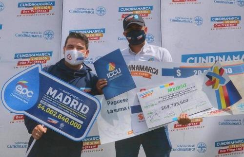 ALCALDÍA DE MADRID FIRMÓ CONVENIOS POR $7.100 MILLONES PARA GRANDES PROYECTOS.