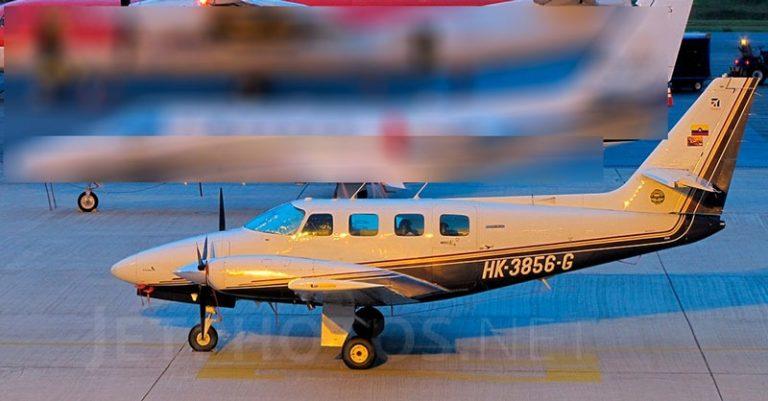 Reportan desaparición de aeronave que cubría la ruta Girardot – Bogotá.
