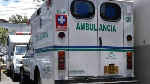 Ambulancia que transportaba a una mujer en trabajo de parto fue atacada en Tocancipá: el bebé falleció dentro del vehículo