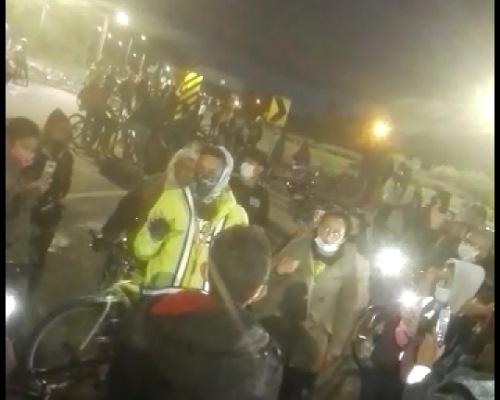 VIDEO | Indignación y rechazo de la comunidad por amenazas de supuesto líder de manifestaciones en Madrid, Cundinamarca