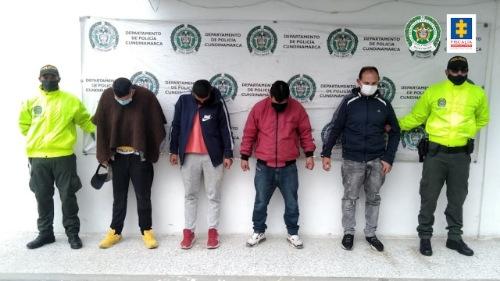Cuatro asegurados por supuesto hurto a un taller de mecánica en Zipaquirá (Cundinamarca)