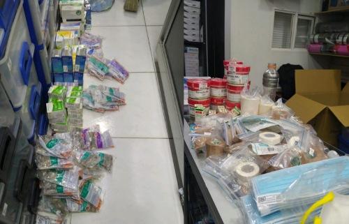 Gobernación decomisa más de 27 mil productos farmacéuticos en distribuidor minorista de Chía
