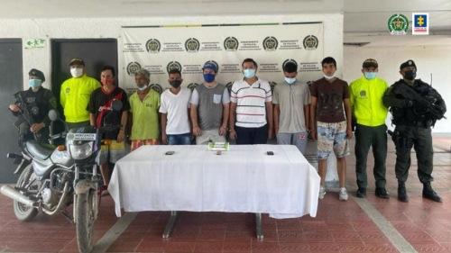 Impactada estructura delictiva Los de la Calle por tráfico de drogas en Cundinamarca