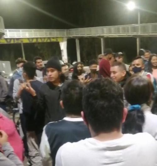 Comunidad de Madrid, Cundinamarca rechaza manifestaciones y bloqueos.