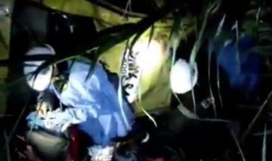 Varios heridos deja accidente de un taxi sobre la vía Guaduas-Villeta. - Noticias de Colombia