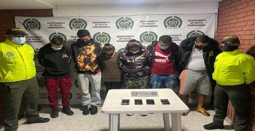 En las últimas horas, fue desarticulado el grupo delincuencial «Los Pepones» en Facatativá.