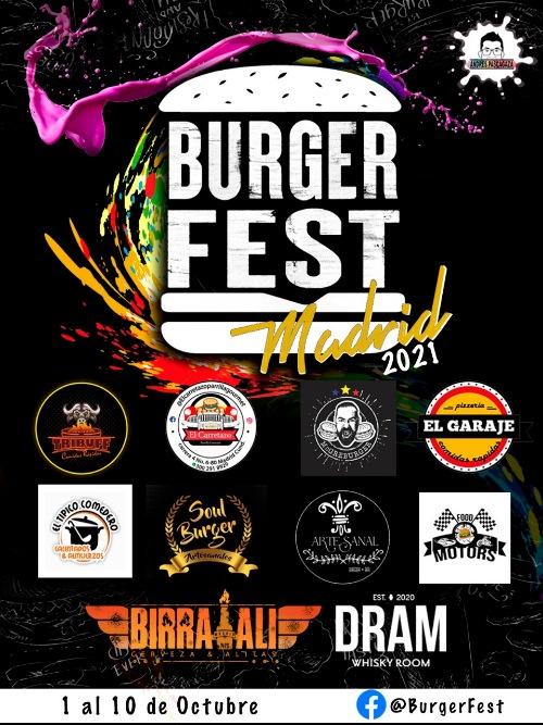REGRESA EL BURGER FEST MADRID 2021