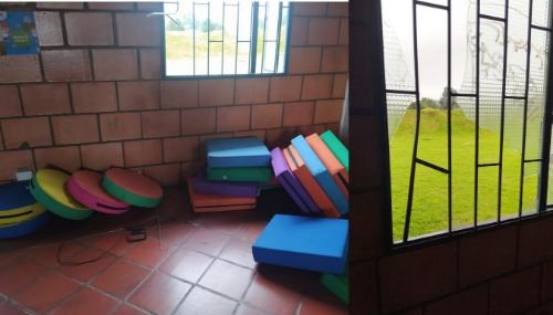 Delincuentes roban jardín infantil en Facatativá.