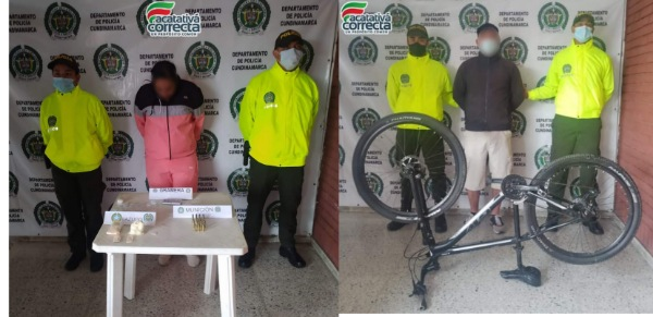 Dos personas fueron capturadas por diferentes delitos en Facatativá.