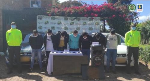 Cárcel para seis presuntos apartamenteros, capturados en medio de una persecución policial