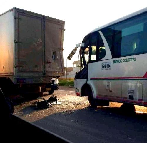 Accidente de tránsito generó gran congestión vehicular en la vía Funza – Siberia.